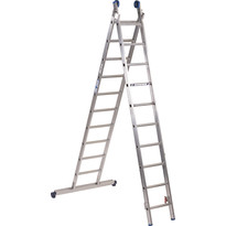 ASC ladder XD BL recht met stabilisatiebalk