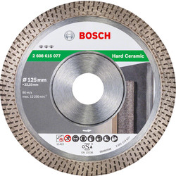 Bosch Bosch Best for Ceramic Extraclean diamantschijf tegels 125x22,2x1,2mm - 11391 - van Toolstation