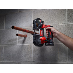 Milwaukee M12 BS-0 accu bandzaagmachine (body)