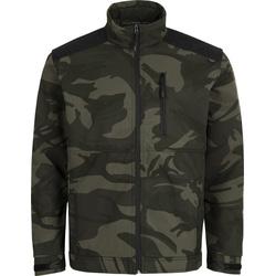 Cerva softshell jack camouflage