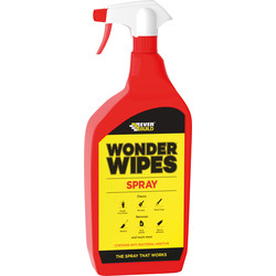 Everbuild Everbuild Wonder Wipes Spray 1L - 19813 - van Toolstation