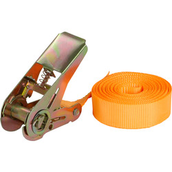 Spanband met ratel 25mm/5m - 23554 - van Toolstation