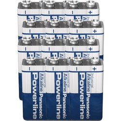 Panasonic Panasonic Powerline batterij 9V 6LR61 - 24255 - van Toolstation