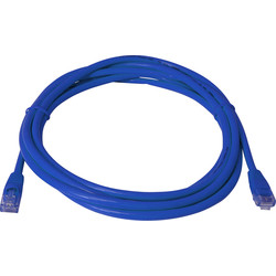 CAT5 UTP kabel 1m blauw - 27965 - van Toolstation
