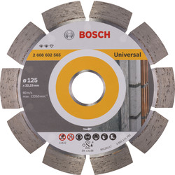 Bosch Bosch Expert for Universal diamantschijf universeel 125x22,2x2,2mm - 33092 - van Toolstation