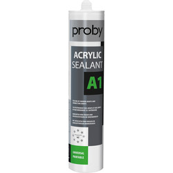Proby Acrylaatkit A1 wit 280ml - 33850 - van Toolstation