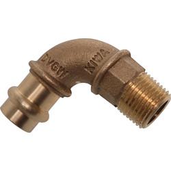 Conex B-Press puntstuk haaks 90°
