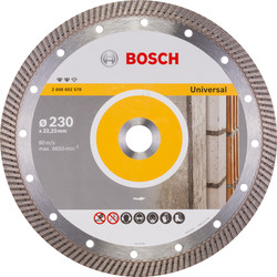 Bosch Bosch Expert for Universal Turbo diamantschijf universeel 230x22,2x2,8mm - 38925 - van Toolstation