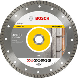 Bosch Bosch Standard for Universal Turbo diamantschijf universeel 230x22,2x2,5mm - 39275 - van Toolstation