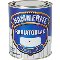 Hammerite Hammerite radiatorlak 750ml wit - 42604 - van Toolstation