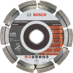 Bosch Bosch Best for Mortar diamantschijf voegen 125x22,2x6mm - 42745 - van Toolstation