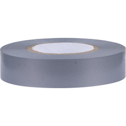 Isolatietape 33m Grijs 19mm - 43725 - van Toolstation