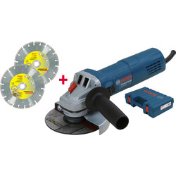 Bosch Bosch GWS880 125mm haakse slijpmachine  - 45120 - van Toolstation