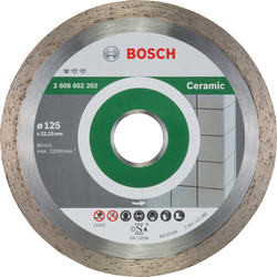 Bosch Bosch Standard for Ceramic diamantschijf tegels 125x22,2x1,6mm - 47431 - van Toolstation