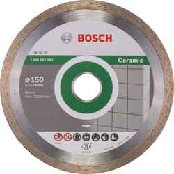 Bosch Bosch Standard for Ceramic diamantschijf tegels 150x22,2x1,6mm - 47515 - van Toolstation