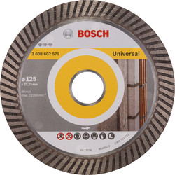 Bosch Bosch Expert for Universal Turbo diamantschijf universeel 125x22,2x2,2mm - 50609 - van Toolstation