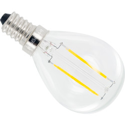 Integral LED Integral LED lamp filament kogel E14 2,8W 250lm 2700K - 55094 - van Toolstation