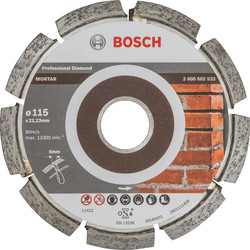 Bosch Bosch Best for Mortar diamantschijf voegen 115x22,2x6mm - 59197 - van Toolstation