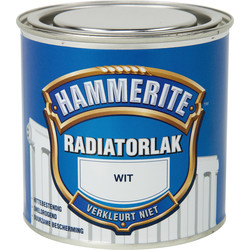 Hammerite Hammerite radiatorlak 250ml wit - 61450 - van Toolstation