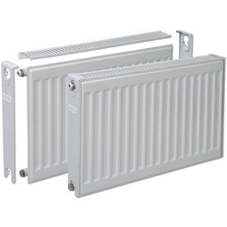 Plieger Compact radiator enkel 600 x 400mm 363W - 61884 - van Toolstation