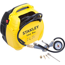 Stanley Stanley Air Kit compressor olie vrij  - 61890 - van Toolstation