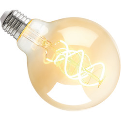 Sylvania ToLEDo LED lamp filament vintage globe G95 E27