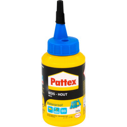 Pattex Pattex PRO waterproof houtlijm flacon 250g - 65094 - van Toolstation