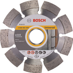 Bosch Bosch Expert for Universal diamantschijf universeel 115x22,2x2,2mm - 69593 - van Toolstation