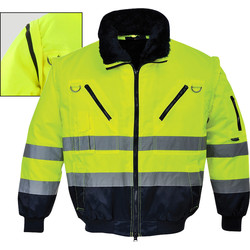 Portwest Portwest Hi-Vis 3 in 1 pilotjack M - 71599 - van Toolstation