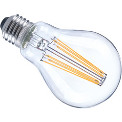 Integral LED lamp filament standaard E27