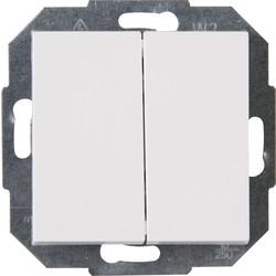 Kopp Athenis wipschakelaar wissel/wissel inbouw
