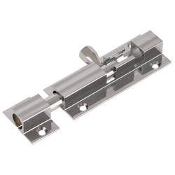 Profielgrendel messing verchroomd 75x25mm - 84595 - van Toolstation