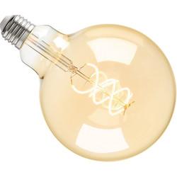 Sylvania ToLEDo LED lamp filament vintage globe G120 E27