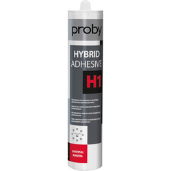 Proby Hybridekit H1 afdichtingskit wit 290ml - 91331 - van Toolstation
