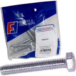 Forgefix Tapbouten M6x50mm - 97432 - van Toolstation
