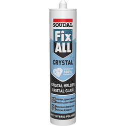 Soudal Soudal fix all Crystal transparant 290ml - 97773 - van Toolstation