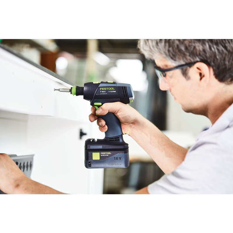 Festool T18+3 Li Basic accu accuboormachine (body)