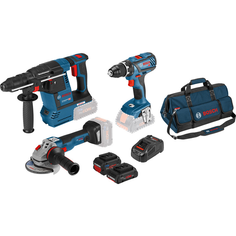 Bosch 18V 3 toolkit
