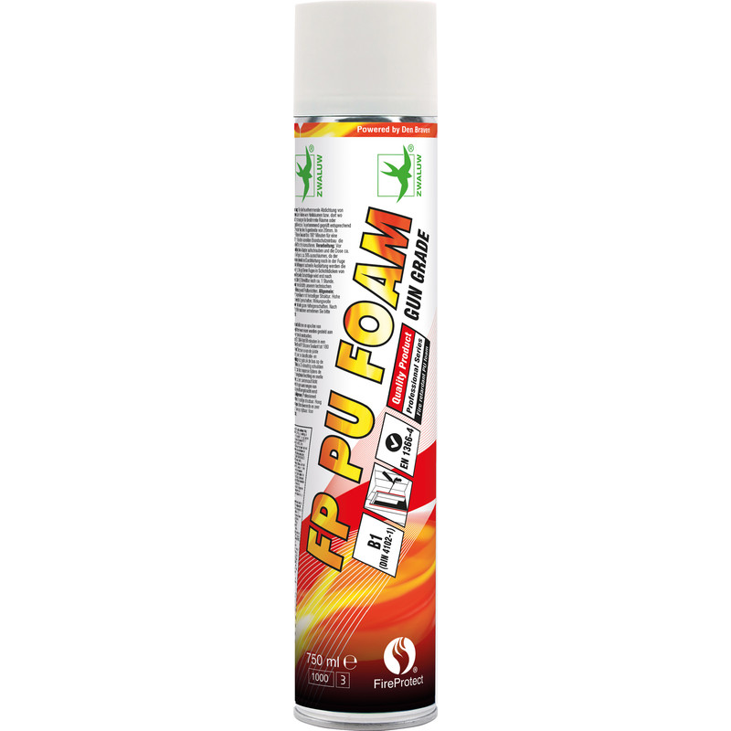 Zwaluw fireprotect FP gunfoam 750ml