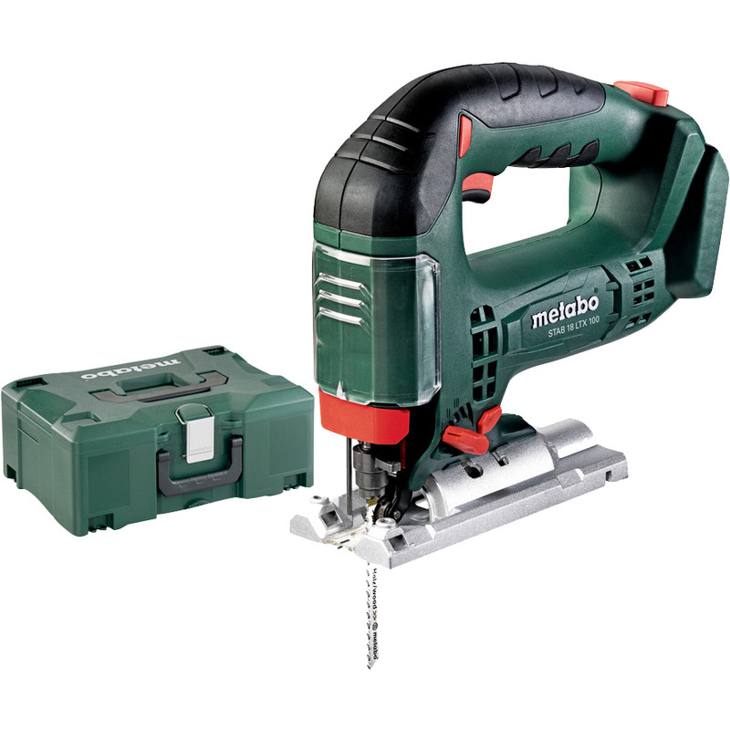 Metabo STAB 18 LTX 100 accu decoupeerzaag machine (body)