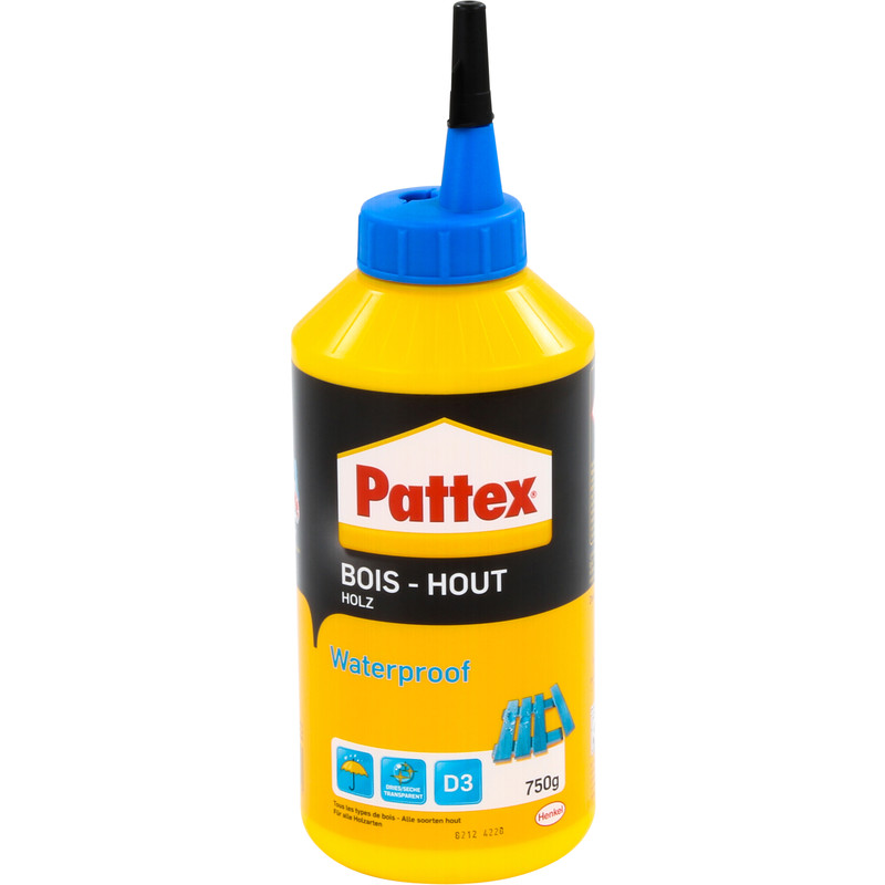 Pattex PRO waterproof houtlijm flacon 750g