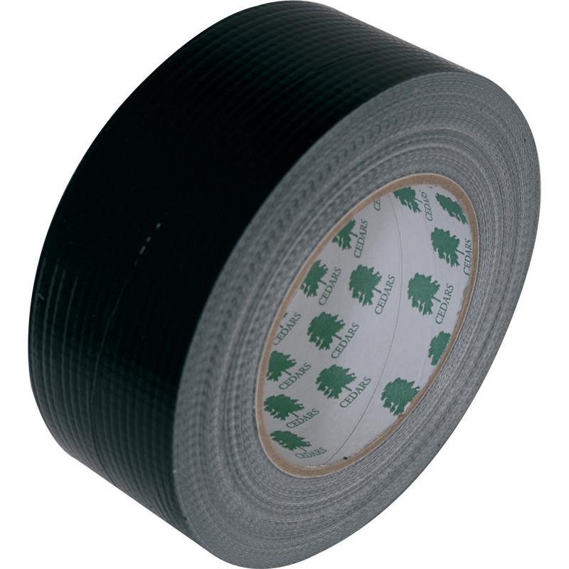 Zeer Watervaste duct tape zwart 50mmx50m BE91