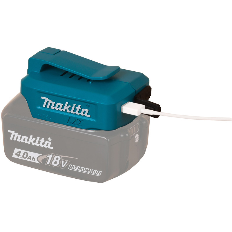 Makita USB adapter 10,8V Li-ion CXT accu's