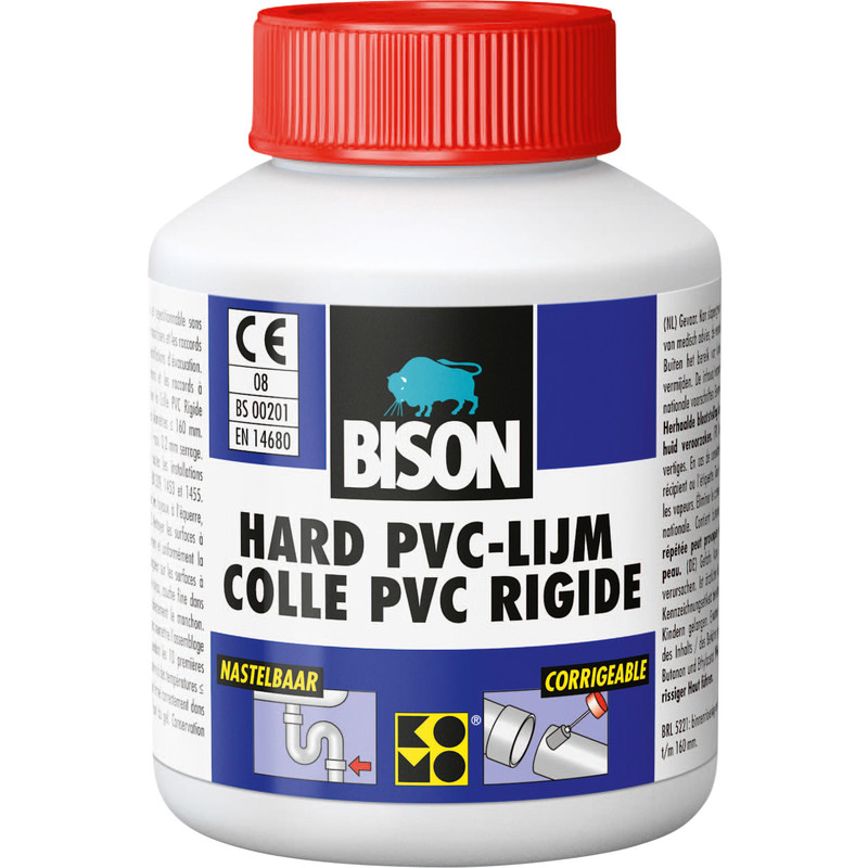 Bison hard PVC lijm 100ml