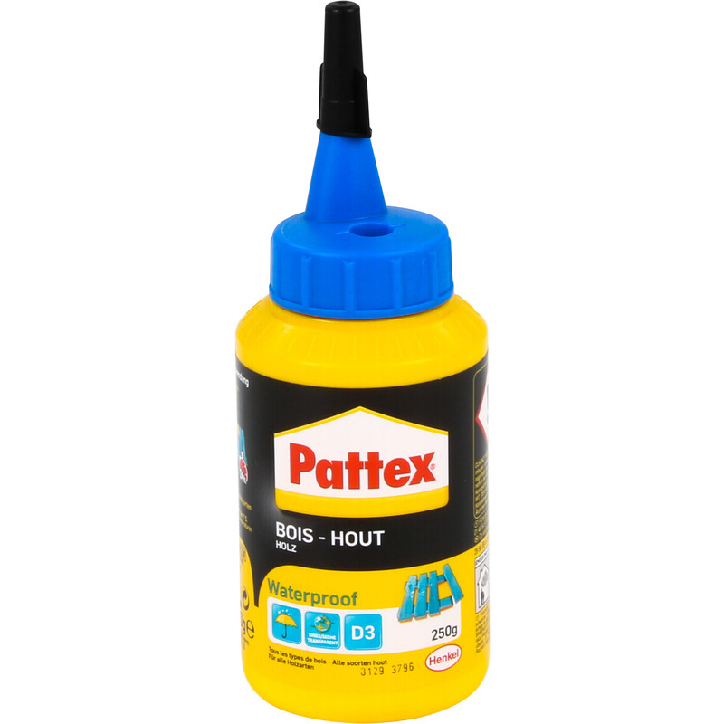 Pattex PRO waterproof houtlijm flacon 250g