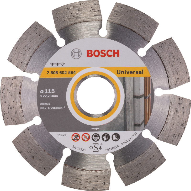 Bosch Expert for Universal diamantschijf universeel 115x22,2x2,2mm