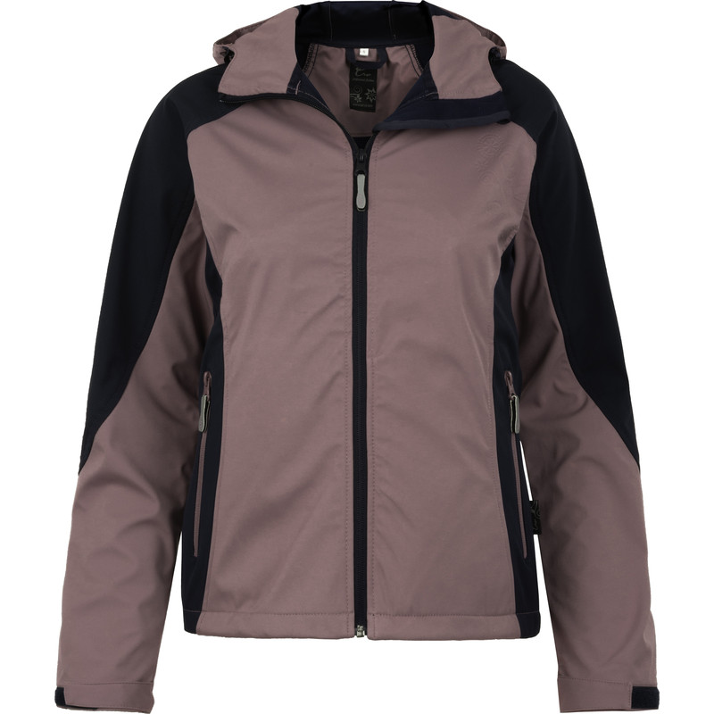 Cerva dames softshell jas Yowie S donkerblauw/paars