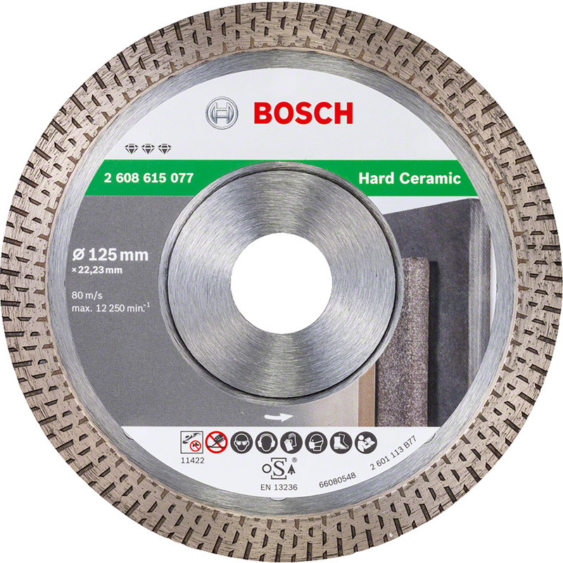 Bosch Best for Ceramic Extraclean diamantschijf tegels 115x22,2x1,2mm