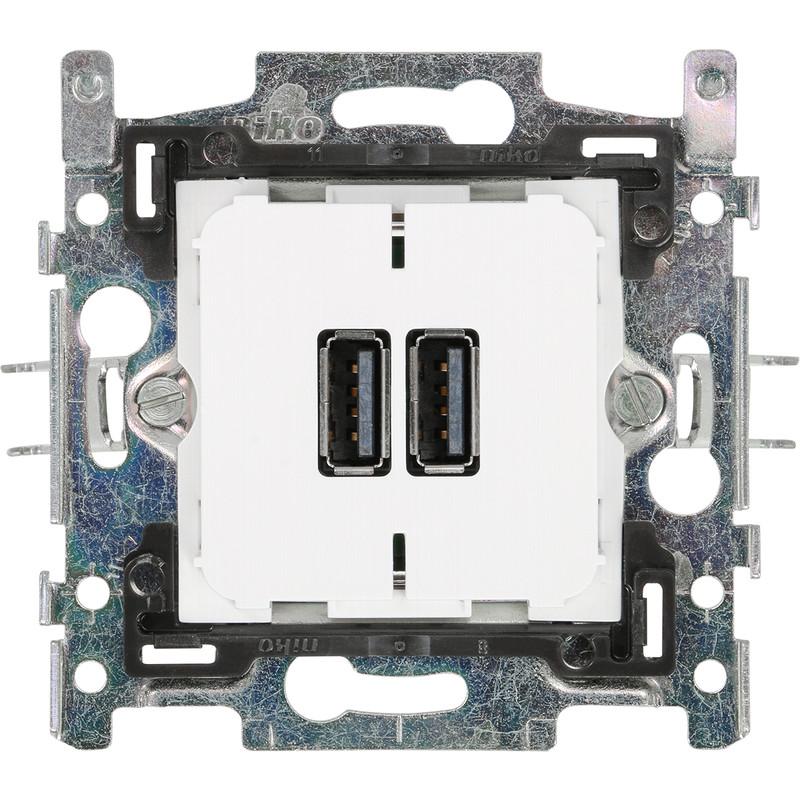 Niko Comfort stopcontact USB