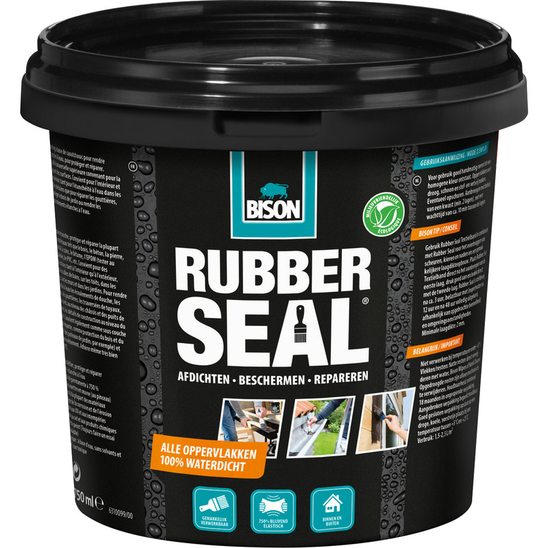 Bison Rubber Seal reparatie pasta 750ml